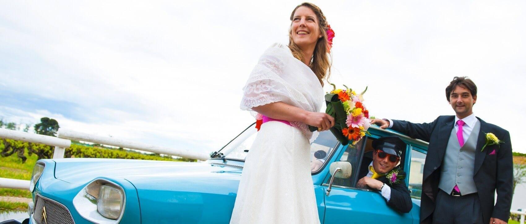 Photo mariage nîmes