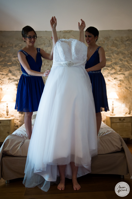 Photographe mariage béziers - Chateau de Sériège