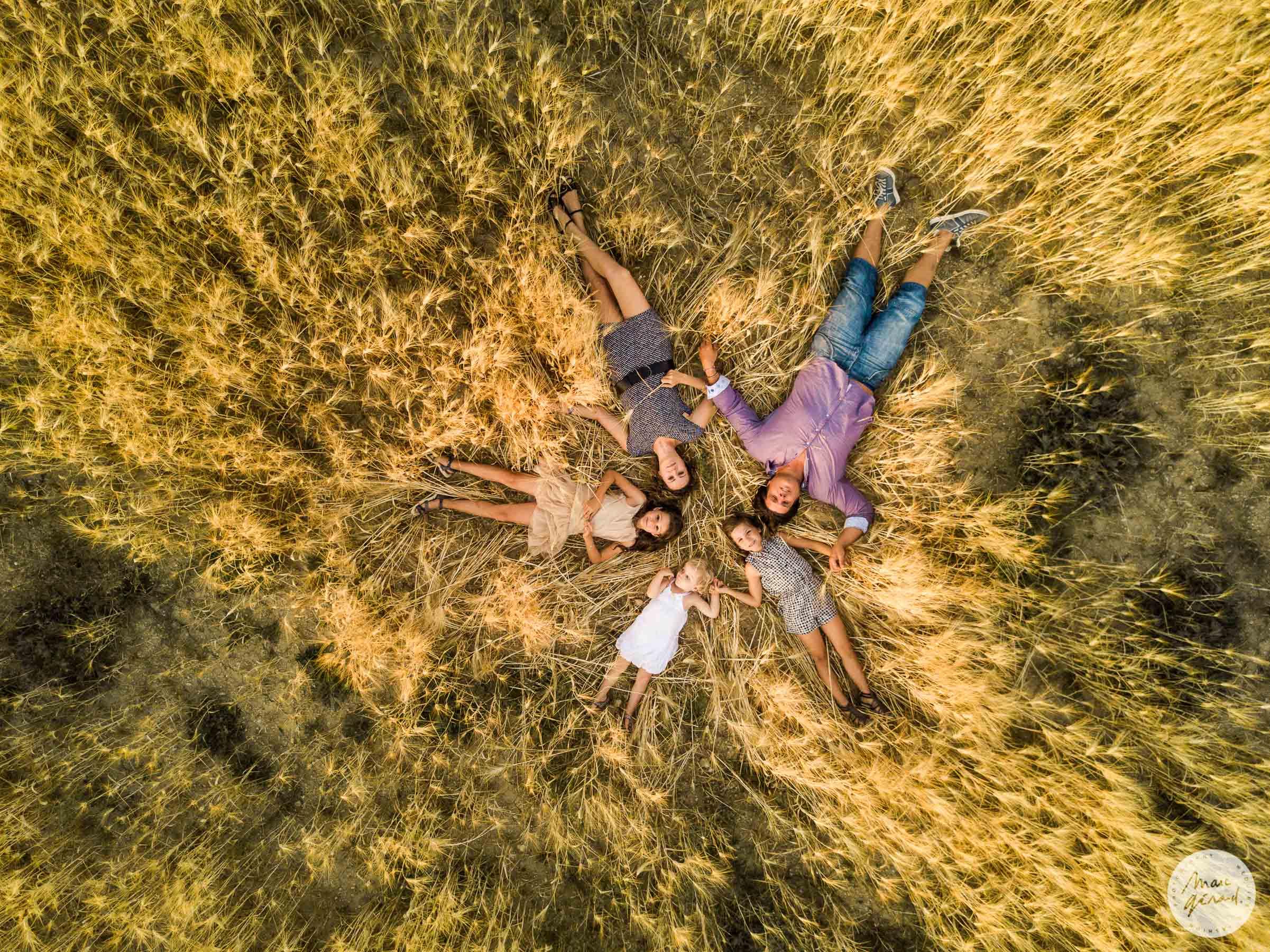 Photo de famille drone