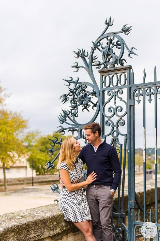 Séance engagement au palais des papes Avignon