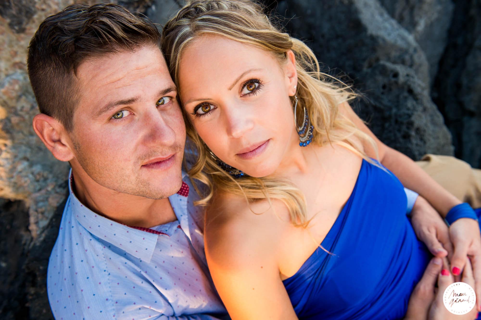 Engagement Cap d'Adge : Aurélie & Florian