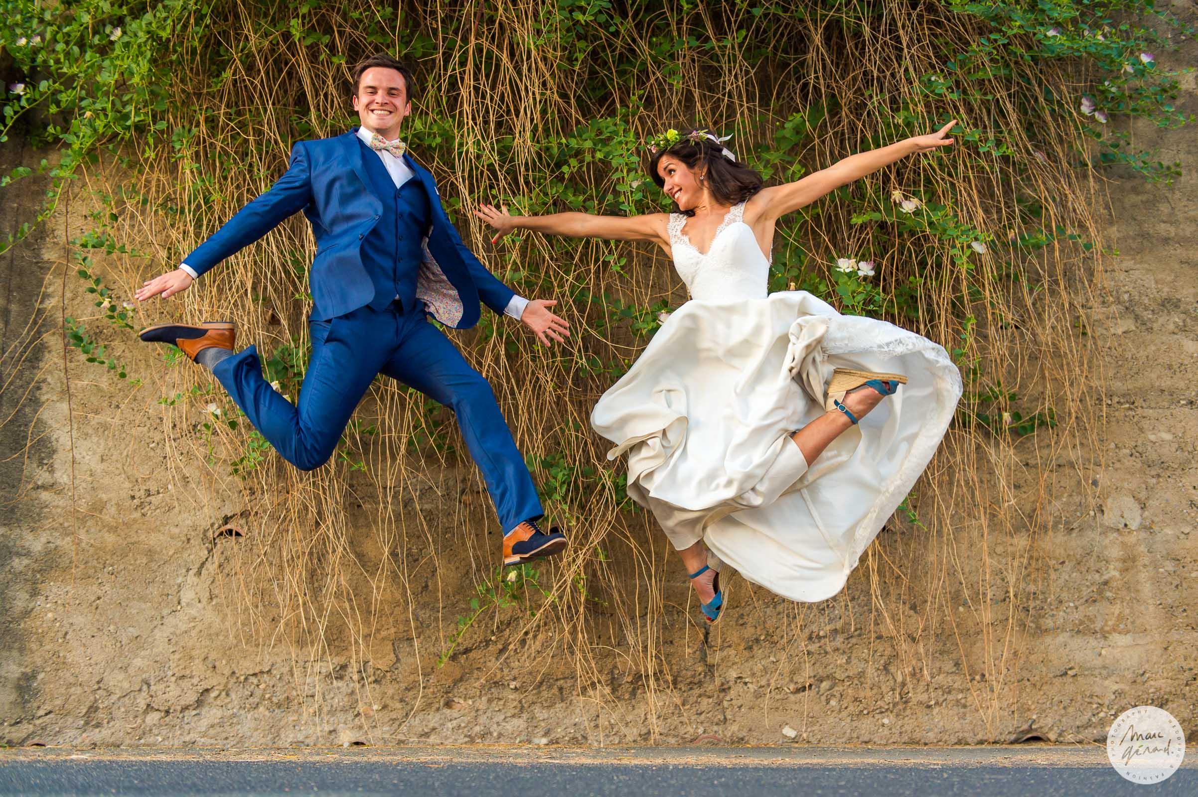 Séance photo après mariage