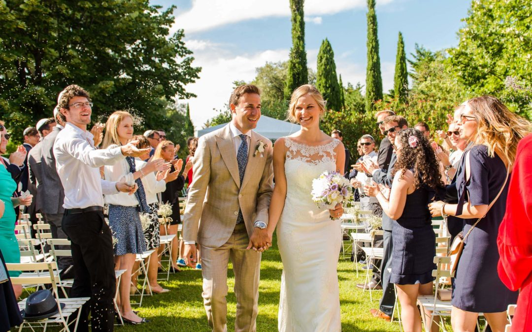 Photographe mariage Avignon : Sarah & David (Château La Tour Vaucros)
