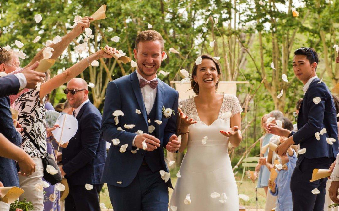 Photographe mariage Béziers : Laure & Olivier, domaine Pech Laurier