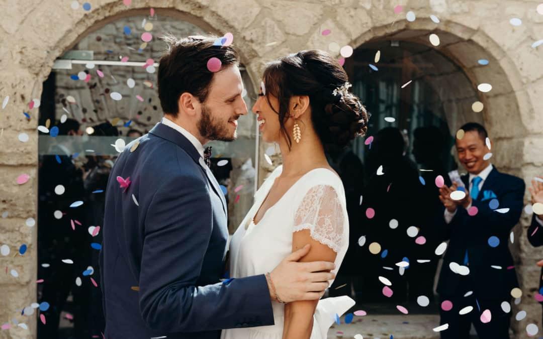 Photographe mariage Montpellier : Alexie & Jean Michel, Chateau Sainte Cecile